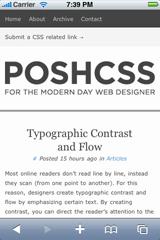 Posh CSS