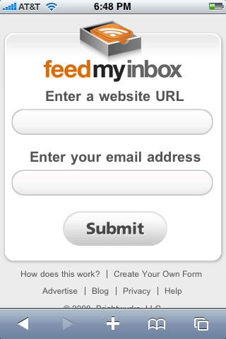 Feed My Inbox