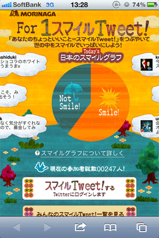 For1スマイルTweet!