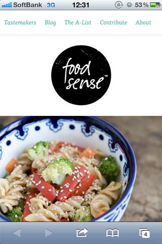 Food Sense