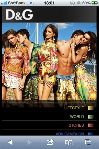 DOLCE&GABBANA Mobile Channel02